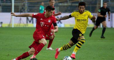 Deutscher Supercup zwischen Bayern und Dortmund ohne Zuschauer