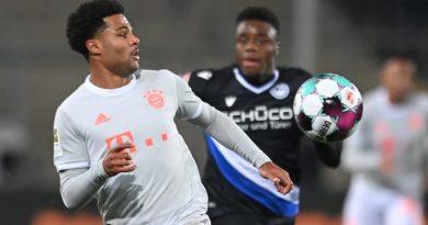 Serge Gnabry falsch-positiv getestet – Nationalspieler des FC Bayern aus Quarantäne entlassen