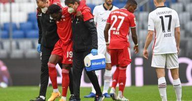 FC Bayern: Davies droht nach Bänderriss wochenlange Pause