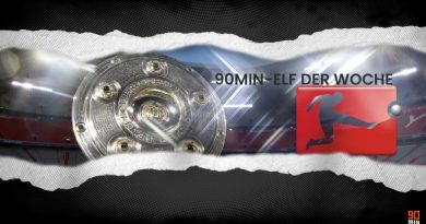Die Bundesliga-Topelf des 24. Spieltags