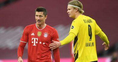 Bericht: FC Bayern plant mit Haaland als Lewandowski-Ersatz